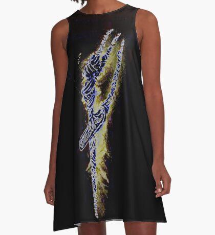 The bandaged Dancer black A-Line Dress