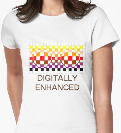 Digitally Enhanced Womens Fitted T-Shirt