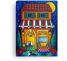 The Little Trattoria Canvas Print