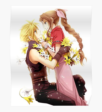 Cloud and Aeris Poster