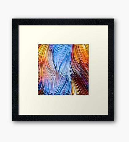 Stream Of Colors VI Framed Print