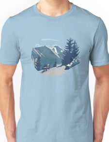 Mountain Sunrise (Pause II) Unisex T-Shirt