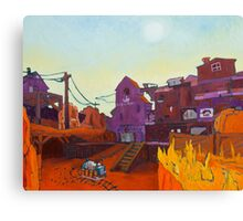 Gold Rush 2 Canvas Print