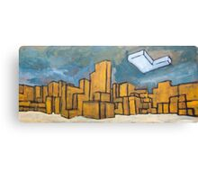 Minecraft Panorama Canvas Print