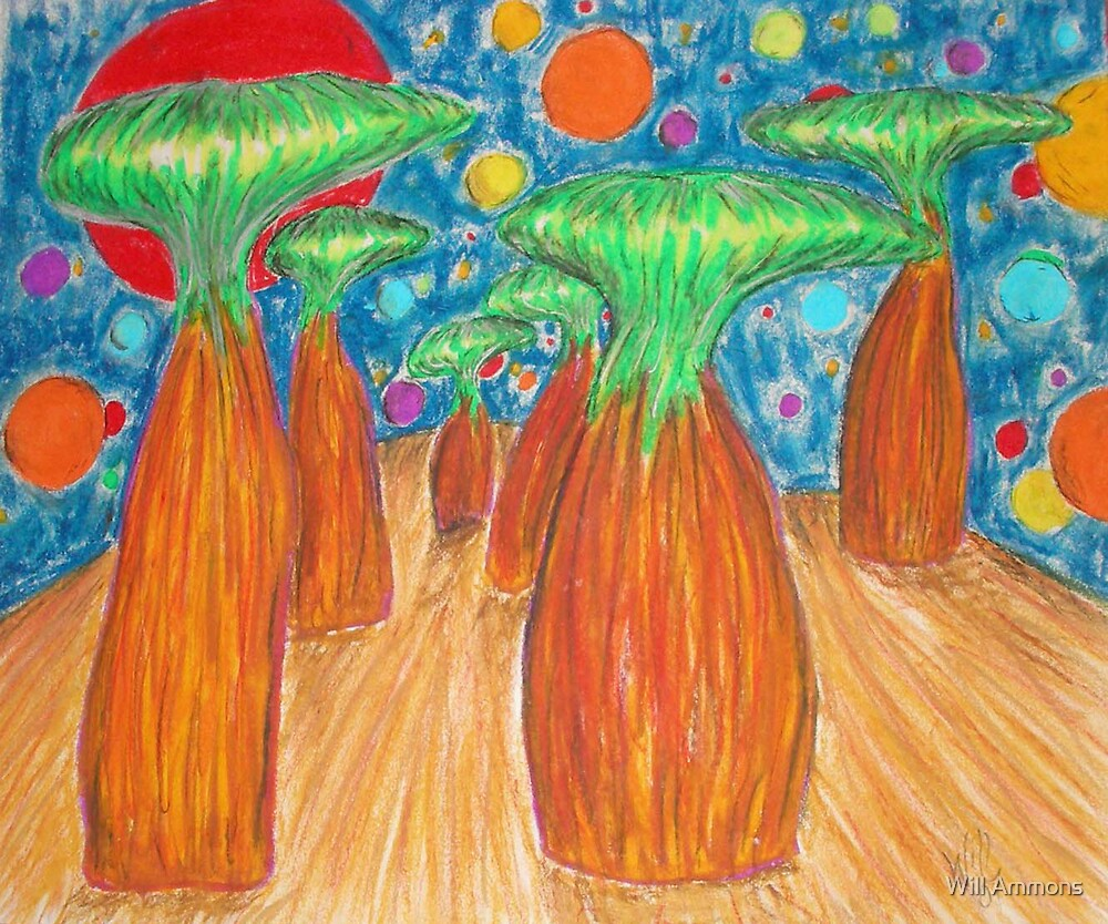 Lemur Trees by Will Ammons