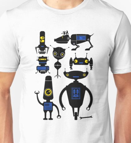 Lots of Robots! Unisex T-Shirt