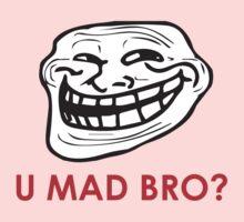 MEME: U mad bro? Kids Clothes