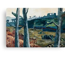 Fallout 3 River Canvas Print