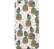 Pineapple - Cream by Andrea Lauren iPhone Case/Skin