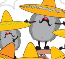 mariachi hedgehogs Sticker