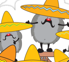 mariachi hedgehogs Sticker