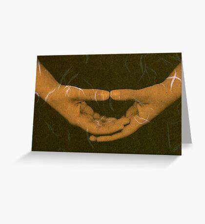 Mystical Meditation Greeting Card