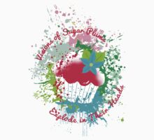 Christmas cupcake visions of exploding sugar plums Kids Clothes