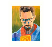 Gordon Freeman Art Print