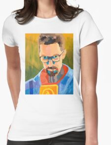 Gordon Freeman Womens Fitted T-Shirt