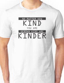 Funny German Kids Sticker Unisex T-Shirt