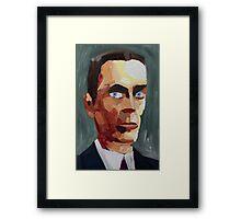 The G Man Framed Print