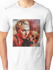 Laurence OIivier as Hamlet, Vintage Hollywood Legend Unisex T-Shirt