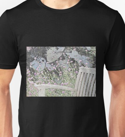 Sitting in the Garden Unisex T-Shirt