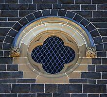 St Marys window by Robyn Lakeman