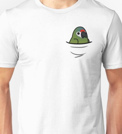 Too Many Birds! - Illigers Macaw/Blue-Winged Macaw Unisex T-Shirt