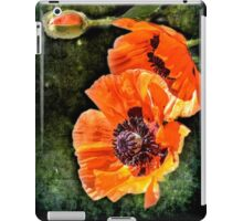 Oriental Poppies family iPad Case/Skin