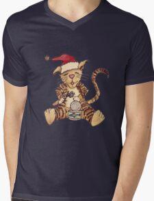 Wildago's Christmas Dinner for Duke Mens V-Neck T-Shirt