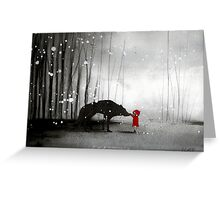 Little Red Riding Hood - The First Touch Greeting Card