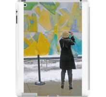 Ice Sculpture iPad Case/Skin