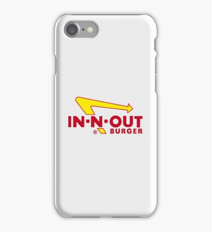 In n Out Burger iPhone Case/Skin