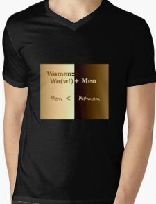 Men & Women  Mens V-Neck T-Shirt
