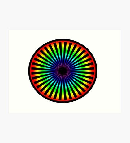 Eyeball to the Soul Art Print