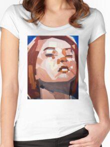 Commander Shepard Women's Fitted Scoop T-Shirt