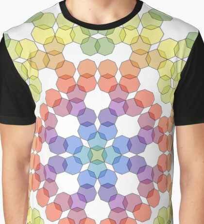 octagonal rainbow Graphic T-Shirt