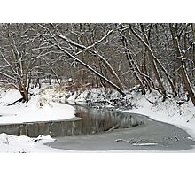 Early Winter At Petrifying Springs Photographic Print