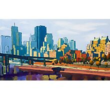 GTA IV Cityscape, Late Afternoon Photographic Print