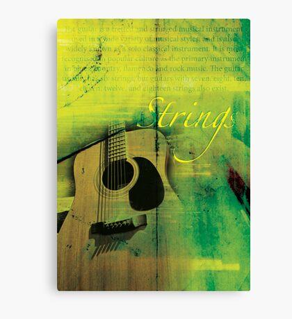 Strings Canvas Print