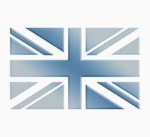 COOL BRITANNIA, UNION JACK, BRITISH FLAG, UK, ENGLAND, COOL BLUE, ICE Kids Clothes