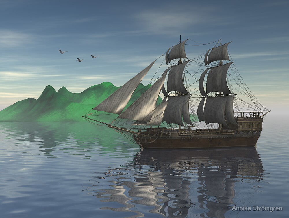 Ocean journey by Annika Strömgren