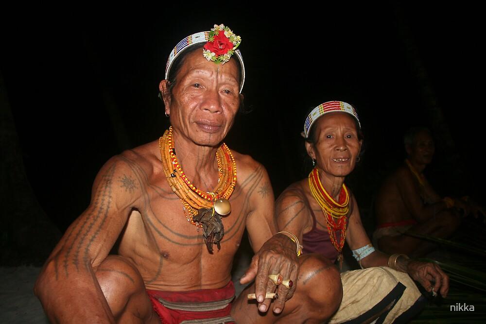 Mentawai couple by nikka