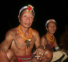 Mentawai couple by nikka
