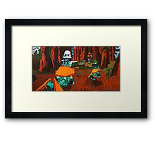 Lego Star Wars Chase Framed Print