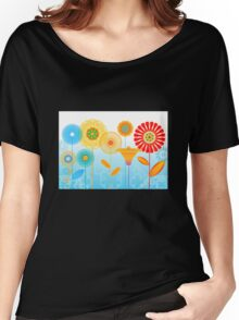 Geometric flowers Women's Relaxed Fit T-Shirt