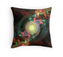 Gumball Machine Throw Pillow