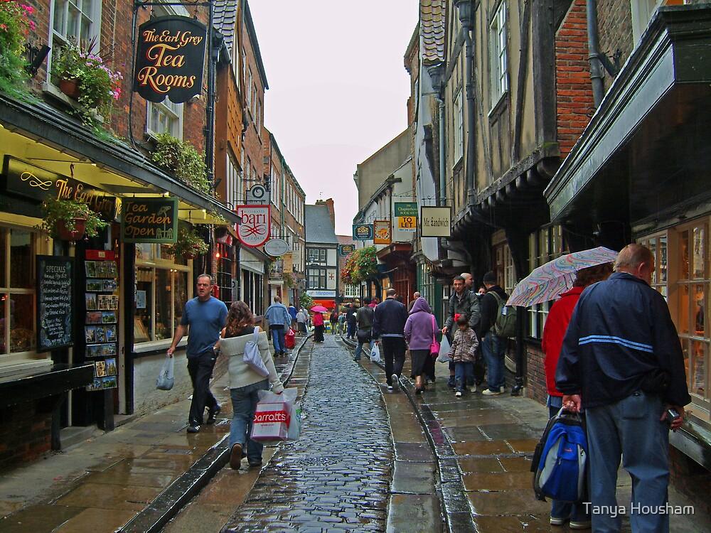 Shambles in York by Tanya Housham