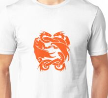 Double Dragon Red Unisex T-Shirt