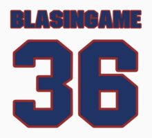 National baseball player Wade Blasingame jersey 36 by imsport