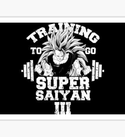 Goku Gym Sticker