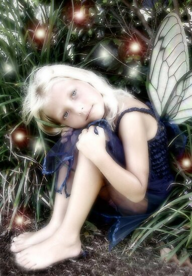 lost little fairy by focusonu