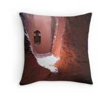 Church, Lalibela, Ethiopia Throw Pillow